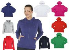 Ladies Full Zip Fleecy Hoodie ~ JB's Wear 3HJ1 ~ Hooded Fleecy Jacket Sz 8 - 24