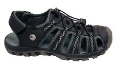 Mens All Terrain Sandals Hiking Aqua Water Shoes Black