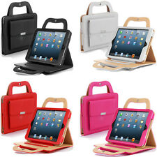 PU Leather Extra Pocket Carrying Case Stand Bag Purse For iPad Mini 1 2 3 Gen