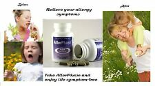 AllerPhase Natural Allergy Relief W/O Side Effects 30 or 60 Cap Size
