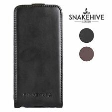 Snakehive® Nokia Lumia 920 Genuine Real Leather Flip Case Cover & Screen Guard