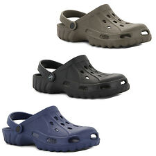 New Mens Garden Beach Kitchen Hospital Mules Summer Clogs Shoes Sizes UK 7-11