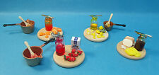 doll house miniature 1:12 scale food preserves 4 to choose from.