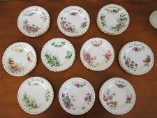 "ROYAL ALBERT FLOWER OF THE MONTH 6.25"" TEA PLATES"
