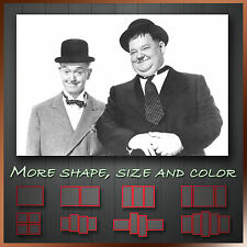 ' Laurel and Hardy Comedy ' Modern Hollywood Moive Wall Art Deco Canvas Box