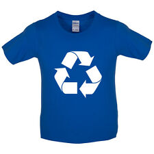 Recycling Symbol - Kids / Childrens T-Shirt - Recycle - Gift - Clothing