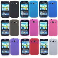 Matte TPU Silicone Gel Case Cover For Samsung Galaxy Core I8260 i8262