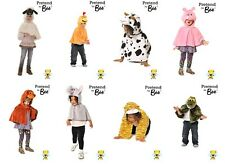 Childrens Farmyard Zoo Animal Dress up Costumes Role Play World Book Day