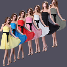 CHEAP!NEW Prom Wedding Short Dress Bridesmaid Formal Evening Party Cocktail Gown