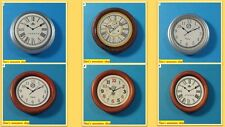 12th scale dollshouse miniature selection of wall clocks 6 to choose from.