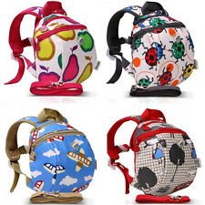 Baby Toddler Kids Keeper Safety Harness Backpack Walker Strap Rein Belt Wing Bag