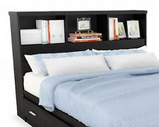 Modern Bookcase Headboard - in size Twin Full and Queen