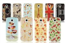 Classic Motive Hard Shiny Case for Samsung Galaxy S4 mini with screen protector
