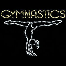 Rhinestone Gymnastics Girls T-Shirt