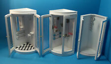 12th scale dolls house miniature selection of bathroom showers 3 to choose.