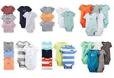 NEW NWT Boys Carter's 5 Pack Bodysuits Newborn 3 6 or 9 Months You Choose!