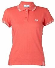 NEW LADIES SERGIO TACCHINI PEACH POLO SHIRT TENNIS HOCKEY NETBALL SIZES XS-XXL