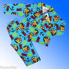 Boys Jake and the Neverland Pirates Pajamas Age 12 Months 4 Years