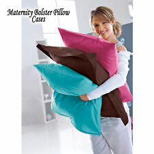 Maternity Pregnancy Bolster Pillow CASE / COVER - All Size