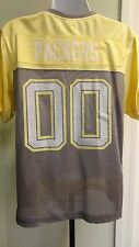 New NFL Reebok Womens Green Bay Packers Sparkly Fashion Team Jersey: Sizes S-XL