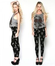 "New Loungefly Junior's ""Skull With Roses"" Grey Raw Edge Tank Top - Sizes S - L"