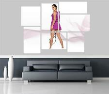 Ana Ivanovic Self Adhesive Wall Picture Poster Not Canvas FP
