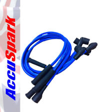 Blue 8mm performance Silicone HT leads for MG,MINI,Ford,Jaguar,Hillman,Triumph