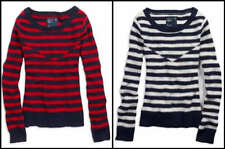NWT AMERICAN EAGLE Inlay Striped Sweater Wool Blend $49