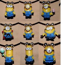 Despicable Me Minion Charm Necklace Fluffy Unicorn Stuart Phil Dave Tim Jewelry