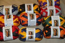 RED HEART BOUTIQUE SASHAY TEAM SPIRIT YARN 3.5 OZ EACH NEW Sports Colors