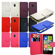 New Pu Leather Flip Wallet Phone Case Cover For Various Nokia Lumia Mobile Phone