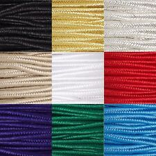 6 Yards 3.5mm Wide Herringbone Braided Polyester Flat Soutache Cording Cord