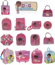Doc Mcstuffins backpack coin purse trainer despatch bag disney school character