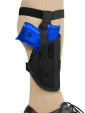 Barsony Gun Concealment Ankle Holster for Sig-Sauer Compact 9mm 40 45