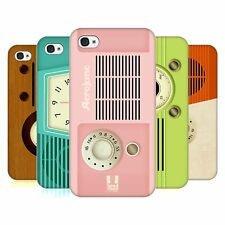 HEAD CASE DESIGNS VINTAGE RADIO PHONE HARD BACK CASE COVER FOR APPLE iPHONE 4 4S