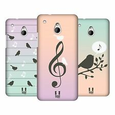 HEAD CASE DESIGNS BIRDS OF MUSIC PROTECTIVE BACK CASE COVER FOR HTC ONE MINI