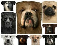 The Mountain Dog Face T Shirts - Lots of Designs! - Sizes S-3XL Available