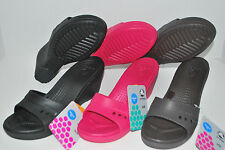 NWT CROCS KADEE WEDGE BLACK ESPRESSO brown RASPBERRY PINK 6 7 8 9 10 heels shoes