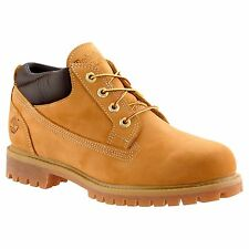 TIMBERLAND 73538 MEN'S  WHEAT NUBUCK WATERPROOF CLASSIC WORK SHOES