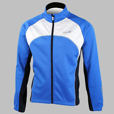 Shiny Winter Warm Sports Outdoor Men's Long Sleeve Cycling jersey 4 Size XS~L