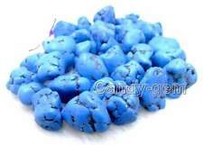 """SALE Big 20-30mm BAROQUE Blue Natural Turquoise Beads strand 15""""-los12"""