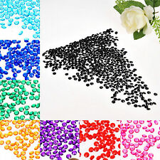 2000PCS 6mm Crystal Diamond Confetti Wedding Favor Party Table Decoration