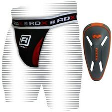 RDX Pro Jock Strap Supporter & Gel Groin Cup Guard MMA Shorts Boxing Muay Thai U