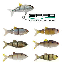 "SPRO BBZ-1 SWIMBAIT 4"" FLOATING various colors"
