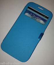 Magnetic Flip Hard Case Cover PU Leather Wallet for Samsung Galaxy S4 S3  I9500