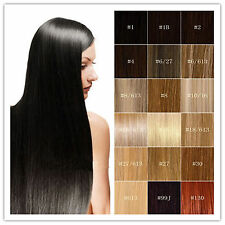 100% Indian Remy Human Hair Extensions Weft Straight Hair piece 100g/Bundle