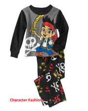 JAKE AND THE NEVERLAND PIRATES 12 18 24 M 3T 4T 5T Boys PAJAMAS PJS Shirt Pants
