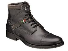 Bacco Bucci Men's Barone Black Leather Cap Toe Boot 2246-87