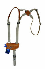 NEW Barsony Tan Leather Shoulder Holster Smith&Wesson Mini-Pocket 22 25 .380