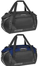 New OGIO Flex Form Travel Carry On Durable Duffel Sport Gym Bag Large Black Navy